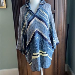 Free People poncho XS/S
